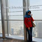 top of Burj Khalifa Dubai